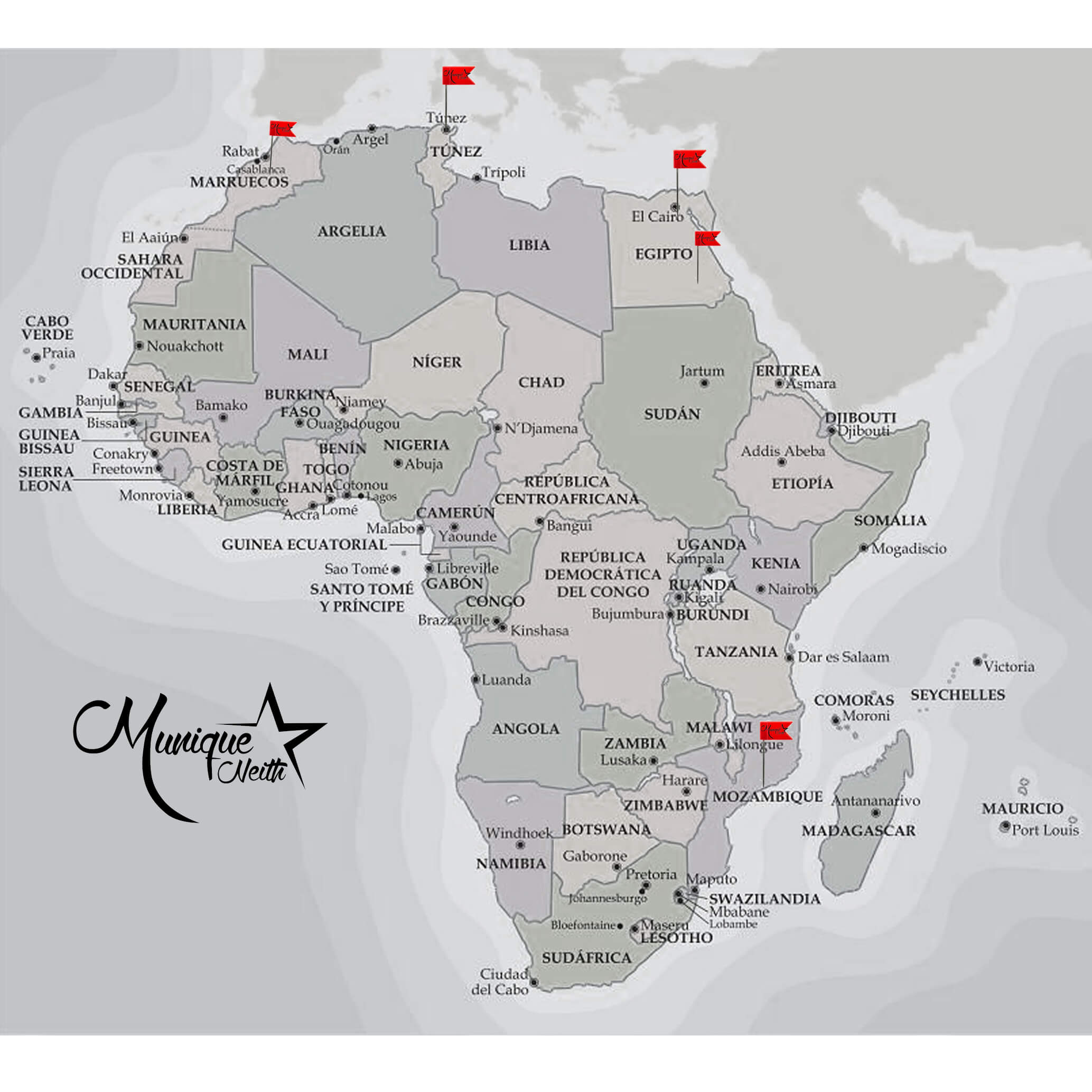Munique Neith - Africa