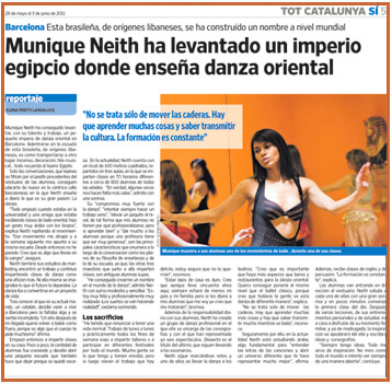 Munique Neith - Prensa